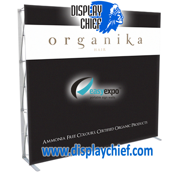 Organika Pop Up Displays